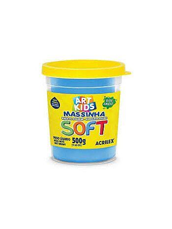 MASSA DE MD SOFT 500G ACRIL 7350 109 AZU