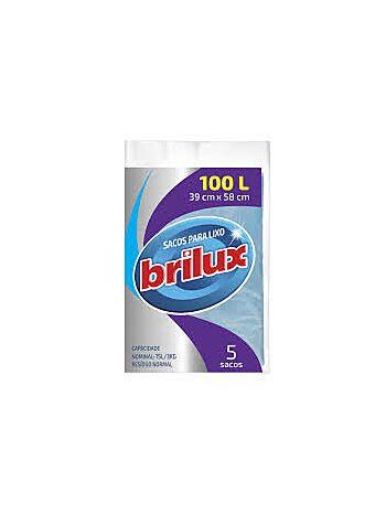 SACO DE LIXO BRILUX 100L C/5