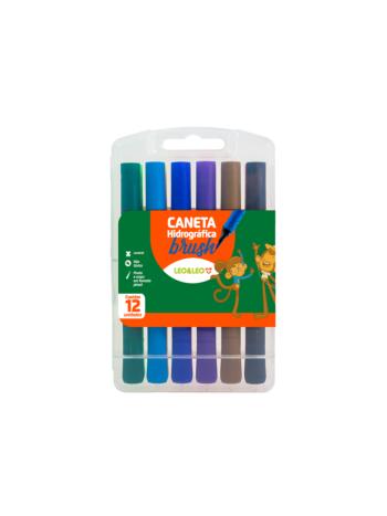 CANETA LEO&LEO HIDRO BRUSH C/12 4689