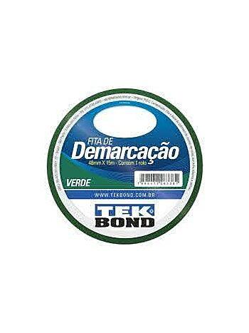 FITA TEK BOND 48X15 DEMARCACAO VERDE