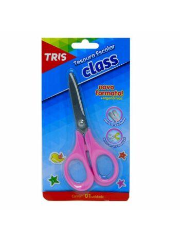 TESOURA ESC TRIS CLASS BL RS 13CM 610245