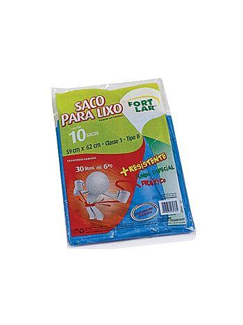 SACO FORT FLEX P/LIXO 30LT 59X62M C/10