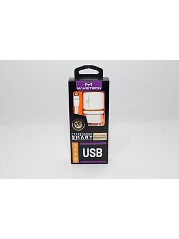 CARREGADOR MAKE TECH IOS USB DL-AC50
