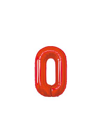 BALAO MAKE+ MET 16' 40CM VERMELH NUMER 0