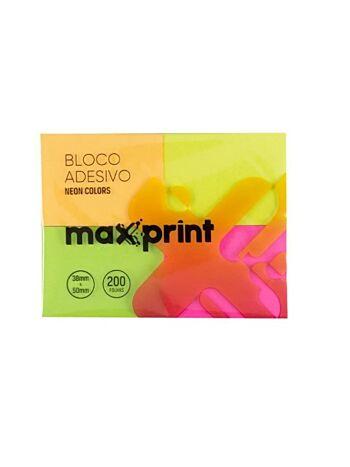 BLOCO ADES MAXPRINT P MAX NEON 741705