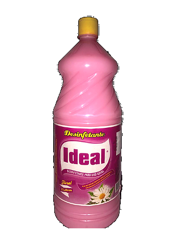 DESINFETANTE IDEAL FLORAL 2LT