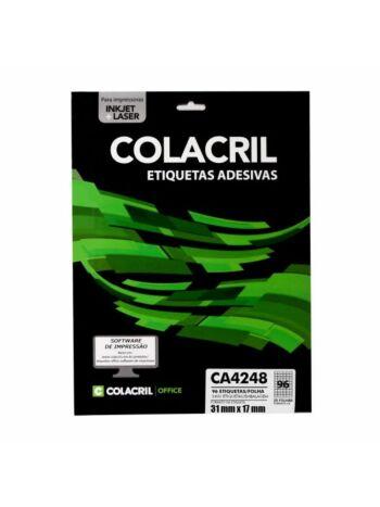 ETIQUETA COLACRIL CA4248 31X17 C/25F
