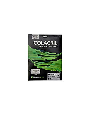 ETIQUETA COLACRIL CA425CD 115MM C/25F