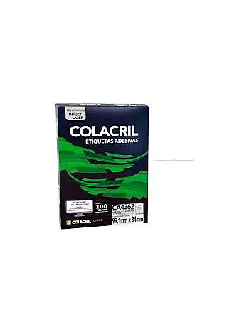 ETIQUETA COLACRIL CA4362 99,1X34 C/100F