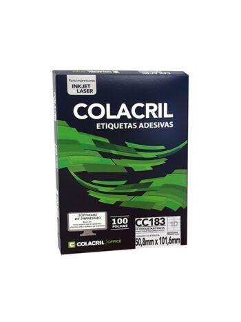 ETIQUETA COLACRIL CC183 50,8X101,6 C/100