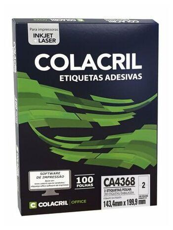 ETIQUETA COLACRIL CA4368 143,4X199 C/100