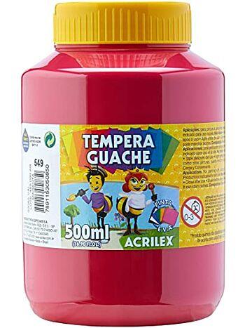 TEMP GUACHE 500G ACRILEX 2050 549 MAGENT